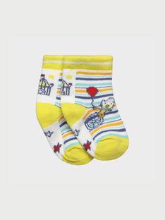 Chaussettes jaune RAEDAVE / 19E4BGC1SOQ001