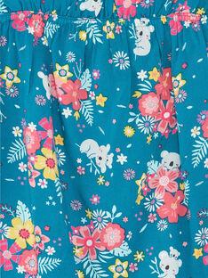 Débardeur bleu imprimé fleuri enfant fille ZAEBOETTE 2 / 21E2PFS1DEB210