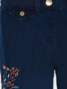 Jeans avec broderies  VYRETTE / 20H2PFR1JEAP269