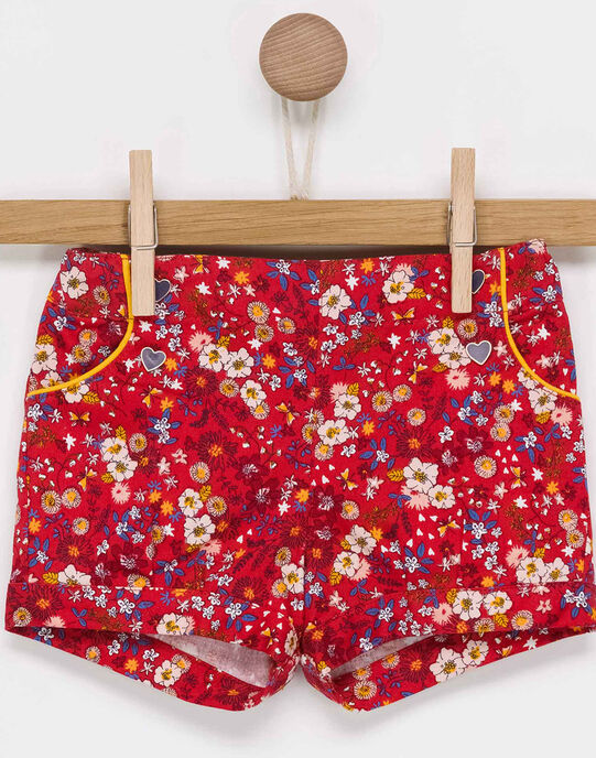 Short rouge PAANIE / 18H1BF21SHO050