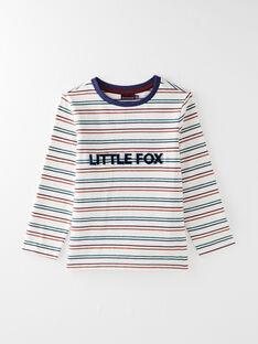 T-shirt manches longues rayé VICLOAGE / 20H3PGU1TML003