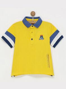 Polo jaune REBIAGE / 19E3PGC1POL412