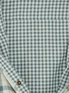 Chemise verte à carreaux  ZACLAGE / 21E3PG71CHMG619