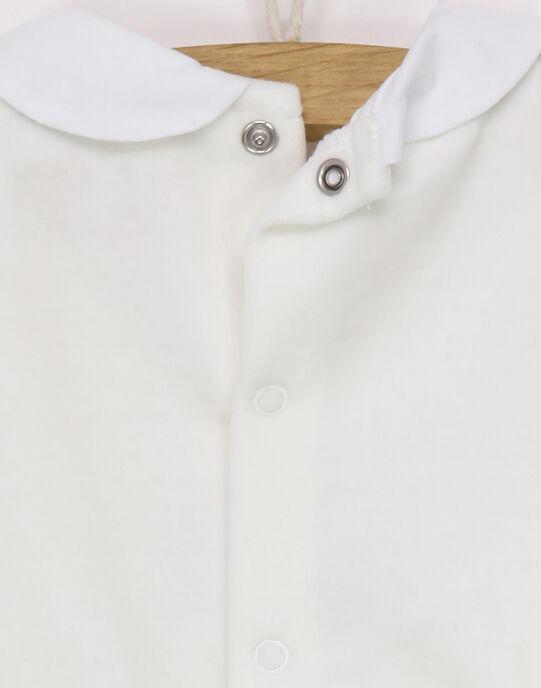 Grenouillère blanc REJOLIE / 19E5BF71GRE001