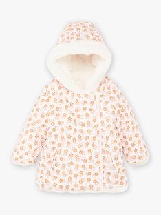 Doudoune réversible imprimé fleuri bébé fille BIPRICILA / 21H1BFD1D3E321