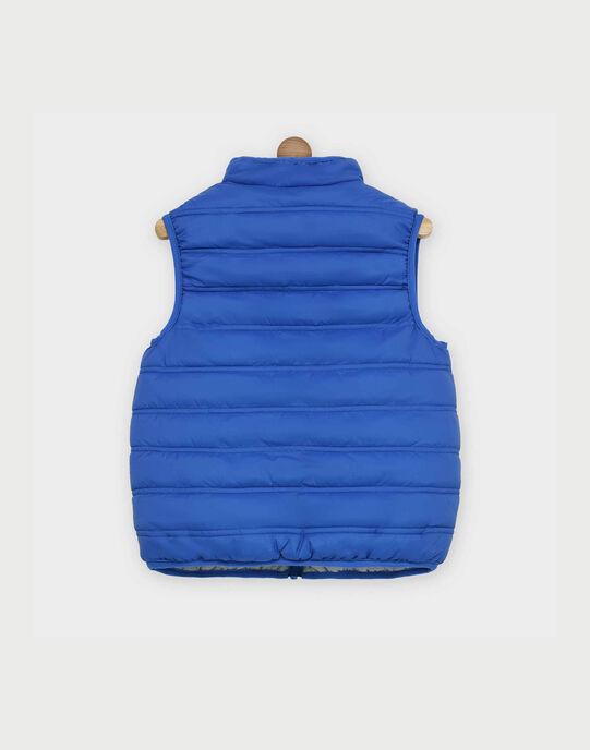 Gilet sans manches bleu RAGILAGE2 / 19E3PGB2GSM208