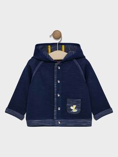 Veste de jogging bébé garçon bleu marine  SAFLAVIO / 19H1BG41JGHC214