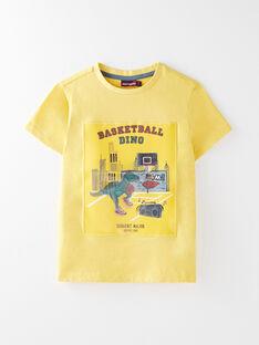 Tee Shirt Manches Courtes Orange VETOAGEEX / 20H3PGM1TMC113