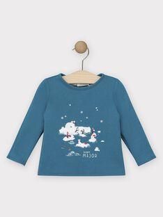 Tee-shirt manches longues réversible bébé garçon  SATOBY / 19H1BGN1TML210