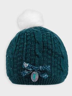 Bonnet bleu canard PAFRIETTE / 18H4PFE1BON060