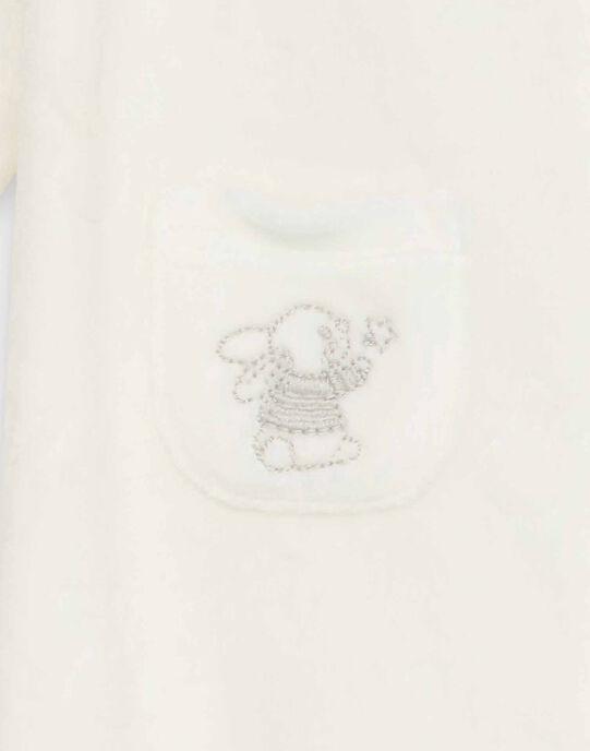 Grenouillère blanc cassé RYGAUVAIN / 19E0NMI1GRE001
