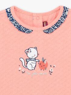 Tee Shirt Rose BAKAVI / 21H1BFL1TEE415