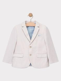 Veste de costume beige garçon  TICOSTAGE / 20E3PGJ1VES808