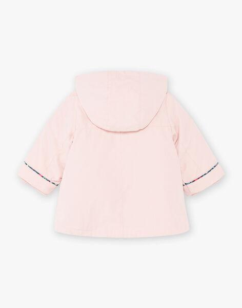 Imperméable rose avec doudoune intégrée bébé fille BINELLY / 21H1BFC2IMPD329
