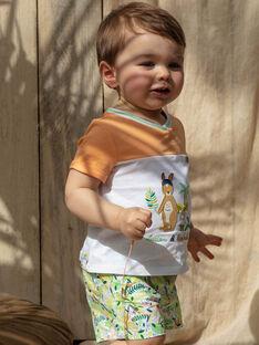 Short imprimé tropical bébé garçon TAWES / 20E1BGX1SHO001