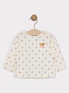 Tee Shirt Manches Longues Ecru SAGISELE / 19H1BF61TML001