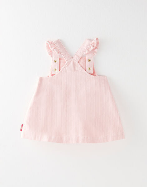 Chasuble en velours rose poche motif biche VAELODIE / 20H1BF61CHS301