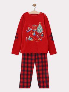 Pyjama Rouge SOCADAGE / 19H5PGQ3PYJ511