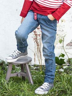Jean et porte-clés skate enfant garçon BACIOAGE / 21H3PG11JEAP269