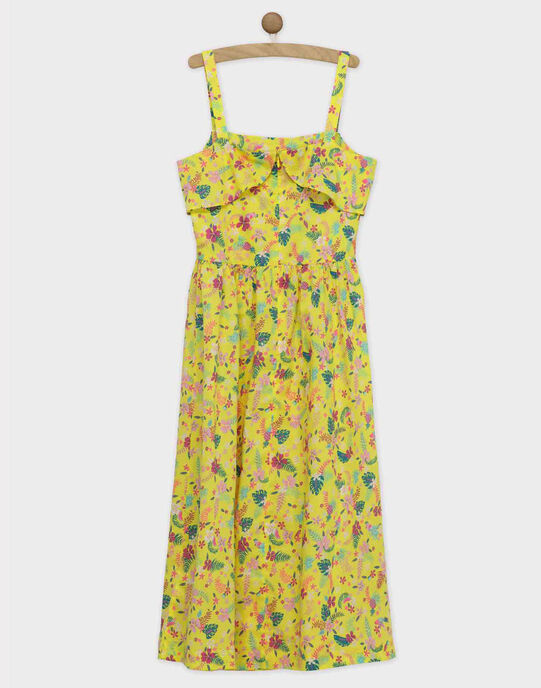 Robe bain de soleil jaune ROYGLEF / 19E2FFY4RBS108