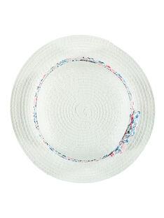 Chapeau blanc RAMAMA / 19E4BFE1CHA001