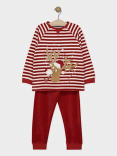 Pyjama Rouge SORENAGE / 19H5PGQ1PYJ511