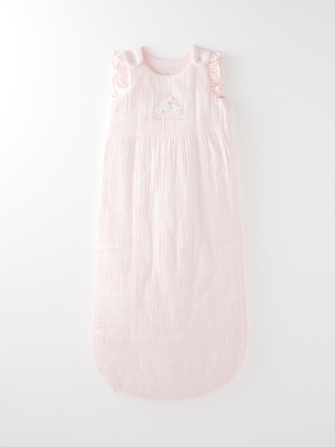 Turbulette rose bébé fille